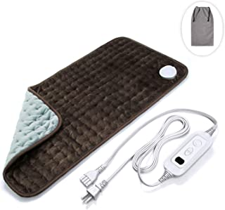 Veken Electric Heating Pad with Fast-Heating Technology, Moist Dry Heat, Auto-Off and Machine Washable, XL Ultra-Soft Heat Therapy Pad for Cramps/Back/Knee/Neck and Shoulders(12