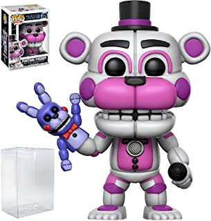Funko Pop! Five Nights at Freddy's: Sister Location - Funtime Freddy Vinyl Figure (Includes Compatible Pop Box Protector Case)