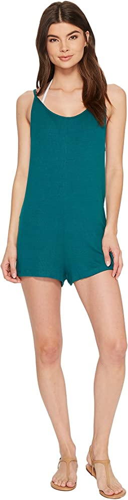 Paradise Knit Romper Cover-Up
