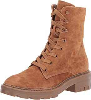 Dolce Vita Women's Lottie Ankle Boot, Saddle Suede, 8