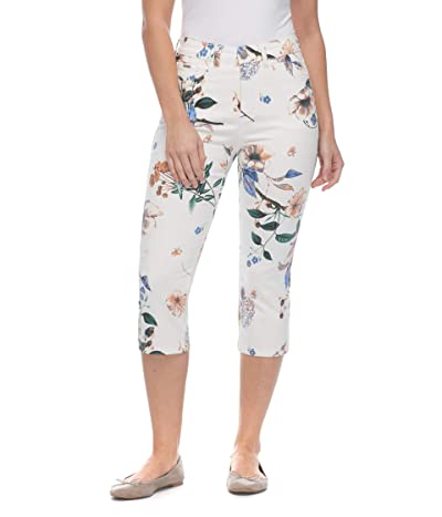 FDJ French Dressing Jeans Euro Printed Twill Suzanne Capris in Multi (Multi) Women