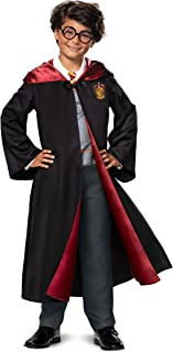 Disguise Limited Harry Potter Deluxe Harry Costume for Boys Size 14/16 Red, Black
