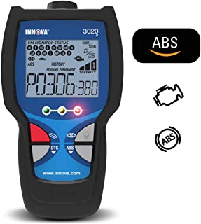 Innova 3020d OBD2 Scanner/Car Code Reader with ABS and Emissions Check