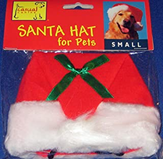 Casual Canine Santa Christmas Hat for Dogs/Pets - Size Large