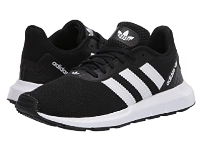 adidas Originals Kids Swift Run RF (Big Kid) (Black/White) Boy