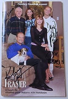 Fraiser Cast Signed Autographed Program Grammer Mahoney Leeves JSA BB59247