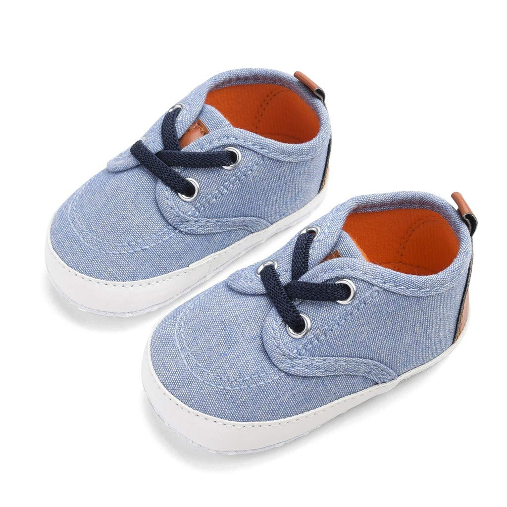 ❤️Sunbona Newborn Baby Boys Girls First Walkers Shoes Summer Soft Sole Light Weight Casual Anti-Slip Sneakers Shoes