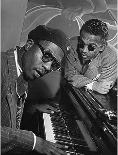 Vintage Music Jazz Legend Thelonious Monk Piano Art Print Poster Wall Decor 12X16 Inch ビンテージ音楽ジャズ伝説ポスター壁デコ