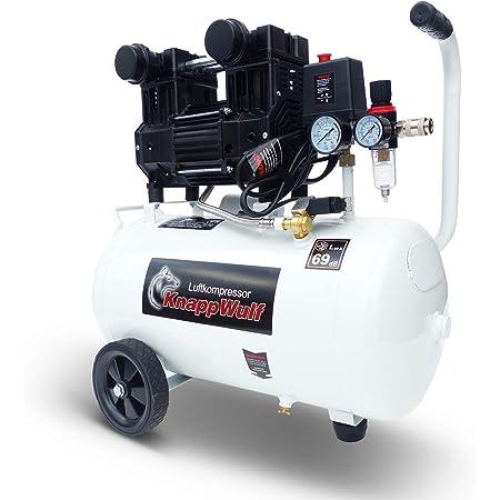Knappwulf Kompressor Mucksmäuschenstill Modell Kw2070 Die Neue Generation 8bar Druckluftkompressor 69db Baumarkt
