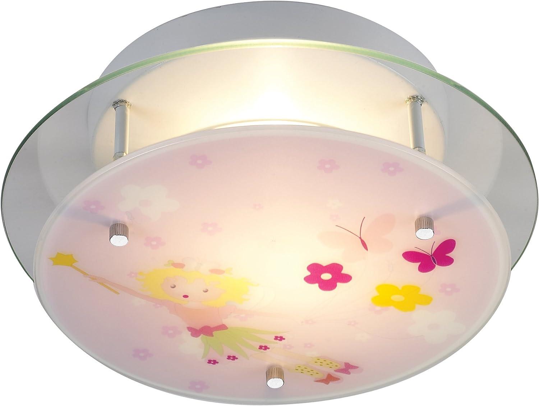 Elk 21008 2 Novelty 2-Light Little Girl Fairy Semi-Flush