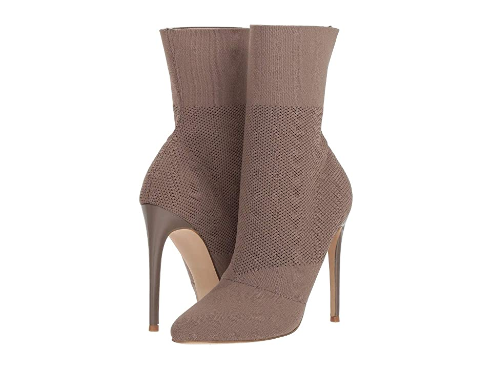 Steve Madden Century Dress Boot (Dark Taupe) Women