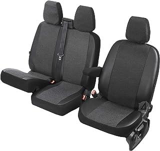Sitzbezüge Viva passgenau geeignet für VW Crafter 2017 2+1  Erste Reihe (1+2) 4D DV VI 3M MTVC 334