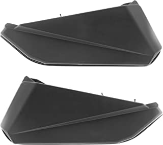 Replacement Lower Door Panels Inserts for Can Am Maverick X3, Black (Left & Right)