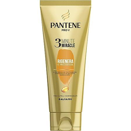 Pantene Pro - V Balsamo 3 Minute Miracle, Rigenera & Protegge, 150ml