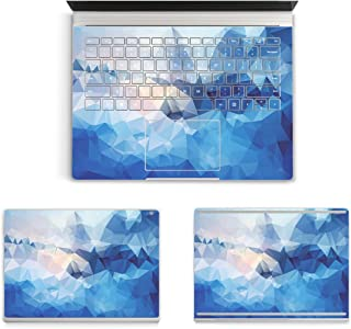 ProElife 3M Sticker Laptop Protector Full Body Protective Decal Cover Skin for Microsoft Surface Book 13.5-inch PixelSense/Touchscreen Display/(3000x2000) Resolution (2015 Released) (Blue Water)