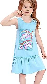 Girls Unicorn Dresses Summer