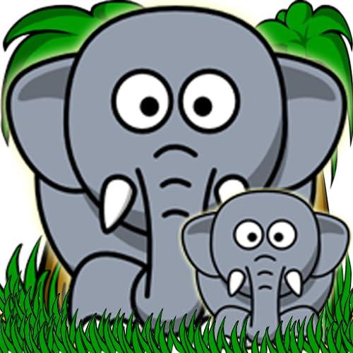 Jungle Animal Memory Enhanced for Kids