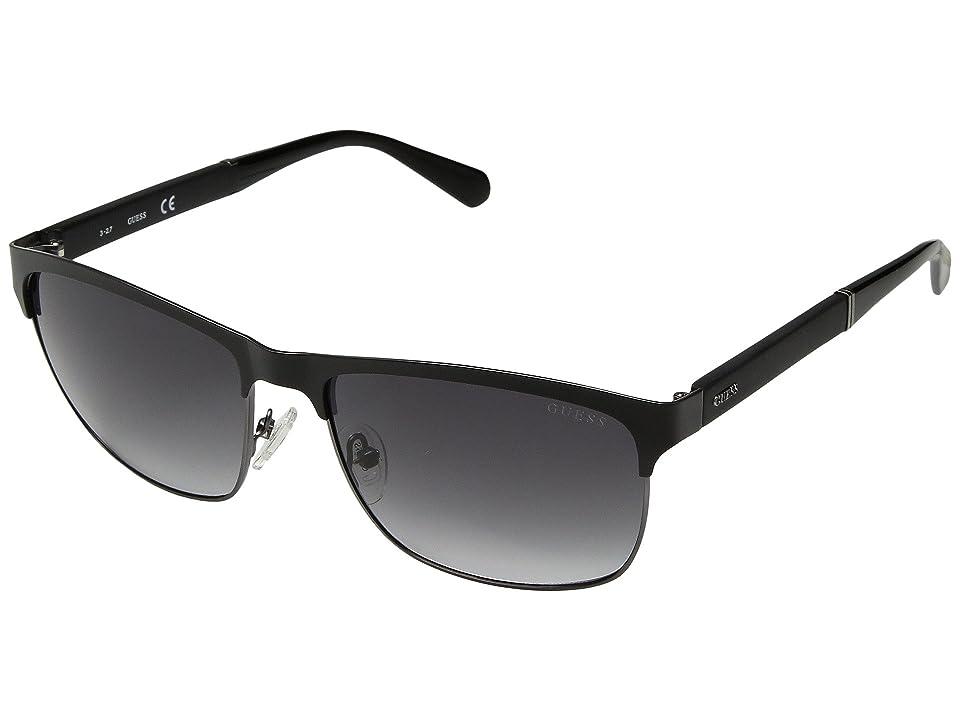 GUESS GU6892 (Matte Black/Gradient Smoke) Fashion Sunglasses