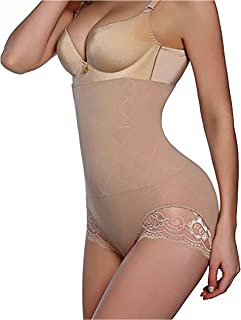 801837c8b689e GAODI Women Body Shaper Butt Lifter Hi-Waist Panty Seamless Waist Trainer Tummy  Control Shapewear