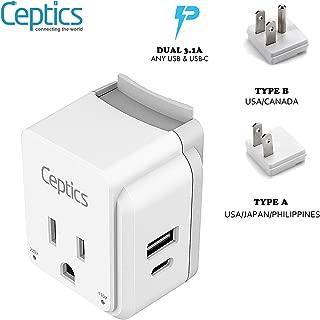 usa canada power adapter