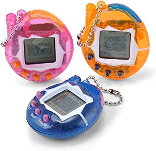 Yidarton Electronic Pets Child Toy Key Digital Pets Tumbler Dinosaur Egg Virtual Pets