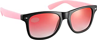 Black and Pink Frame with Pink Tint Drifter Style Sunglasses UV400 Protection Unisex (SG-123)