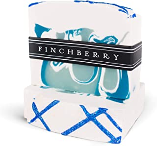 Finchberry Handmade Natural Soap Bar, Moisturizing Shea Butter & Coconut Oil, Organic and Sustainable Ingredients, Fresh & Clean, 4.5 oz