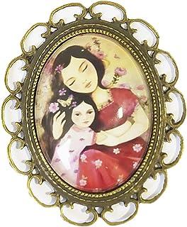 """Spilla""""Madre e figlia"""""""
