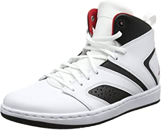 Flight Legend Mens Aa2526-112 Size 14 White/Gym Red-Black