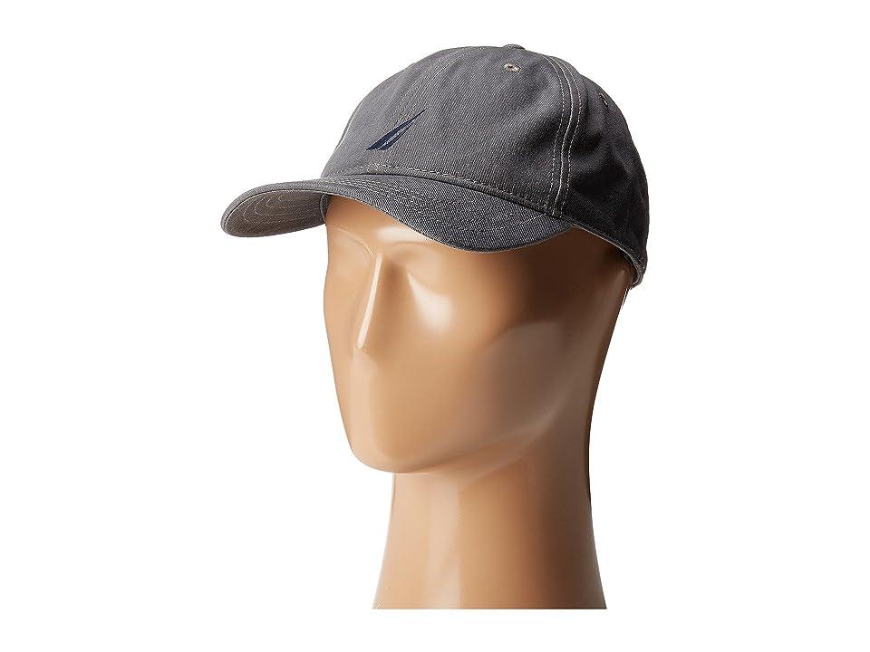Nautica Fashion Color Anchor J-Class Hat (Castle Rock) Caps