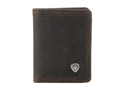 Ariat Ariat Shield Bi-Fold Wallet (Brown Rowdy) Wallet Handbags