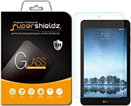 (2 Pack) Supershieldz for LG G Pad F2 8.0 (Tempered Glass) Screen Protector, Anti Scratch, Bubble Free