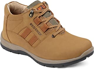 Red Chief Rust Men's Outdoor Casual Leather Shoes (RC3423 022)
