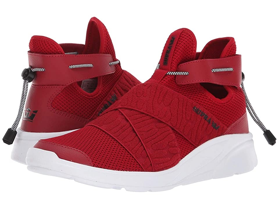 Supra Anevay (Cherry/White) Women