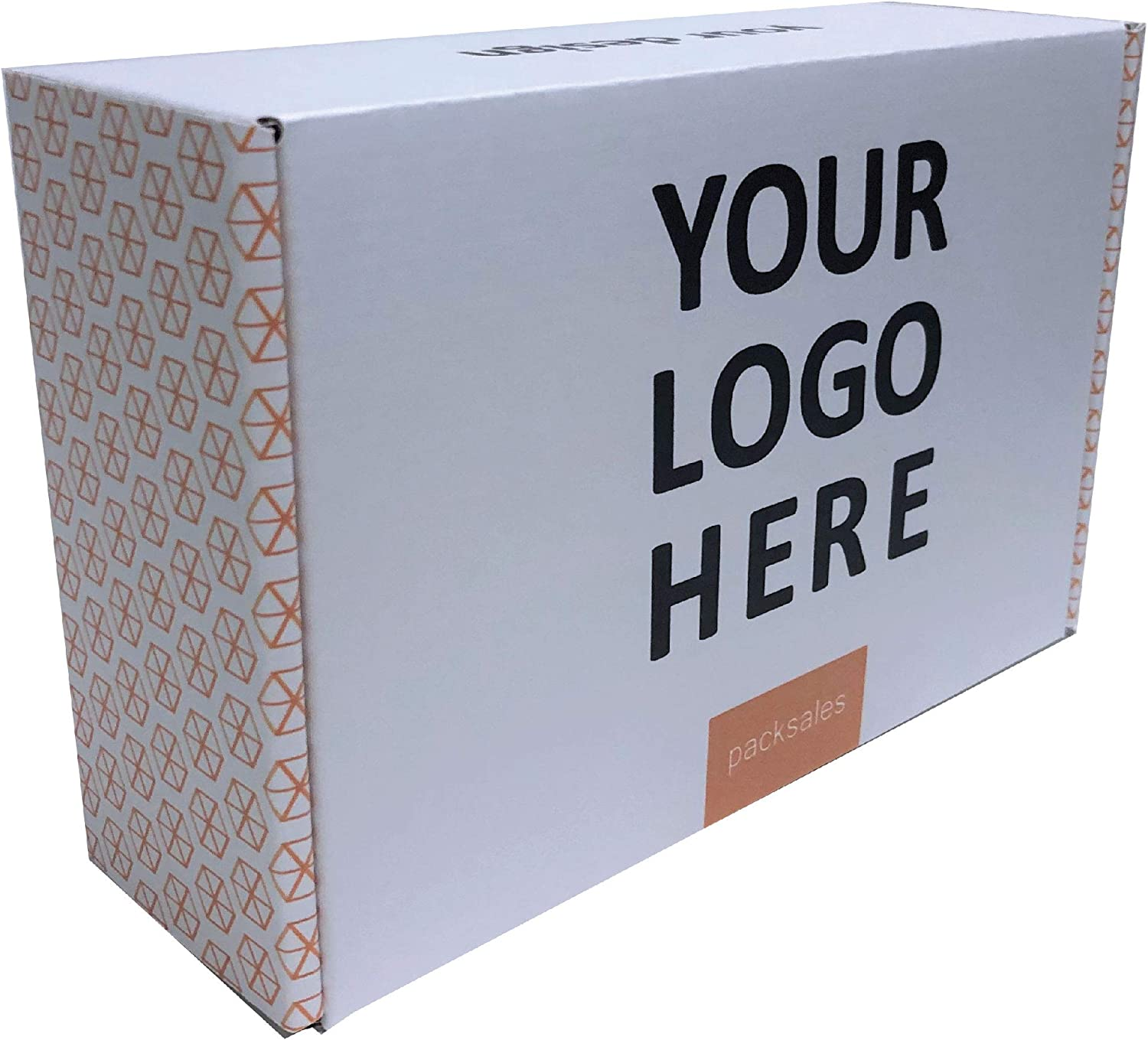 Make your own 8x6x3 custom boxes mailer on cheap outside printed Rapid rise the