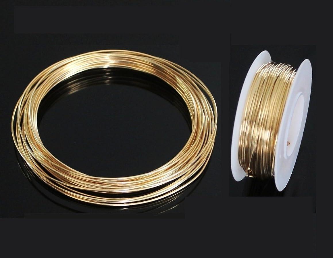 Red Brass Round Wire (Dead Soft) 1/4 LB. Choose Gauge (16 Ga Coil - 31 Ft.)