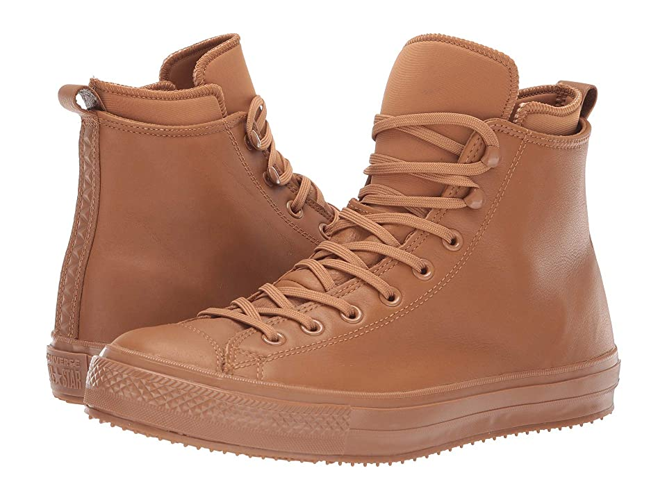 Converse Chuck Taylor All Star Waterproof Boot Hi (Burnt Caramel/Burnt Caramel) Lace up casual Shoes