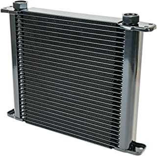 Flex-a-lite (500028) Stacked Plate 28-Row Engine-Oil Cooler, 11 x 10 x 1 3/4