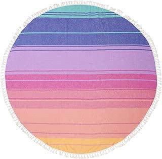 SunnyLIFE Oversize XL Rectangle Cotton Towel Printed Beach Blanket Pool Throw
