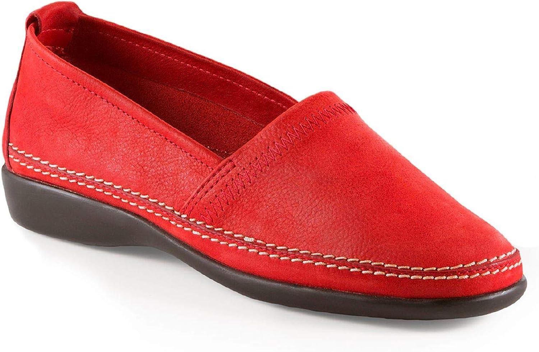 Walbusch Damen Koffer-Slipper einfarbig Rot 41