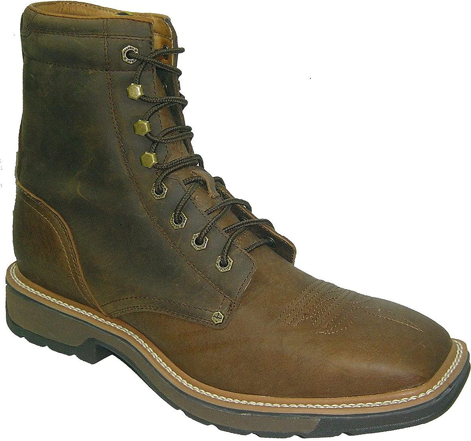 Twisted X Men's Lite 8  Lace-Up Work Boot Steel Toe