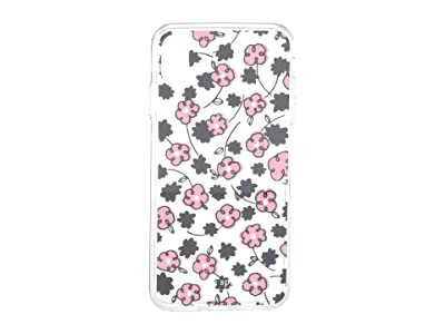 Kate Spade New York Jeweled Floradoodle Phone Case For iPhone XS Max (Clear Multi) Cell Phone Case