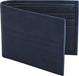 Police Channel Ltr Blue Wallet
