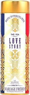 Mariage Frères Paris - LOVE STORY Gourmet schwarzer Tee, umhüllende fruchtige & blumige Noten - 90gr Dose