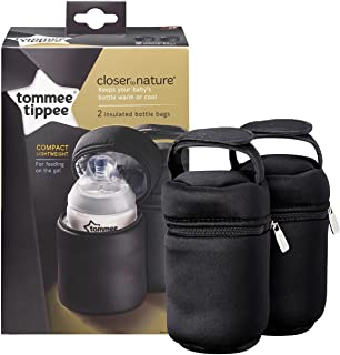 Tommee Tippee Closer to Nature Insulated Bottle Carriers (2-Pack) [Baby Product]