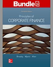 GEN COMBO LOOSELEAF PRINCIPLES OF CORPORATE FINANCE with CONNECT Access Card