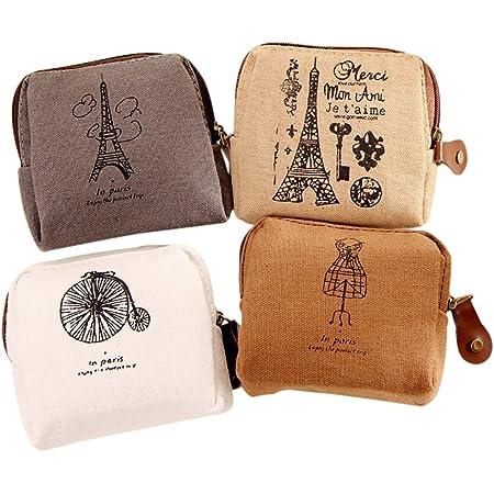 Bigboba Borsetta impermeabile porta assorbente igienico, per donne e ragazze, piccola borsetta per trucco, portamonete S-12.