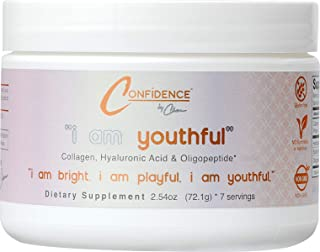 "Sponsored Ad - Confidence by Char: ""i am youthful"" - Advanced Performance Collagen - Hair, Skin & Nails Powder Supplement ..."