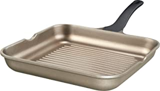 IMPERA 15265 Ideal for shredding/Gourmet Pan Cast Aluminium 28 cm/Champagne Aluminium, Gold, 50.9 x 31.4 x 8.9 cm