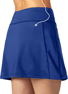 Eoulawey Women's Athletic Skorts Golf Tennis Skirt with Phone Pockets Lightweight Running Workout Sports Lounge Walking